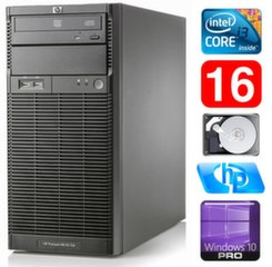 HP ProLiant ML110 G6 i3-550 16GB 250GB DVD WIN10Pro