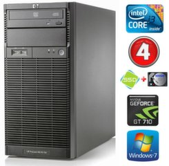 HP ProLiant ML110 G6 i3-550 4GB 120SSD+500GB GT710 2GB DVD WIN7Pro