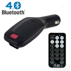 Auto modulaator Forever TR-300 Car FM Bluetooth 4.0 Transmitter + Micro SD/USB/Phone Call Black