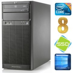 HP ProLiant ML110 G6 i3-550 8GB 120SSD DVD WIN10