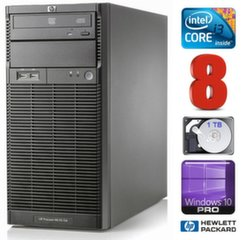 Lauaarvuti HP ProLiant ML110 G6 i3-550 8GB 1TB DVD WIN10Pro