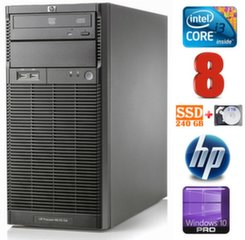HP ProLiant ML110 G6 i3-550 8GB 240SSD+2TB DVD WIN10Pro
