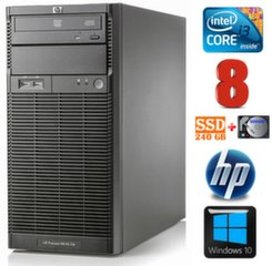 HP ProLiant ML110 G6 i3-550 8GB 240SSD+500GB DVD WIN10