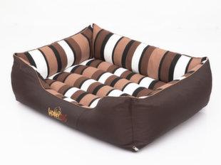 Lemmiklooma pesa Hobbydog Comfort XL, triibuline pruun