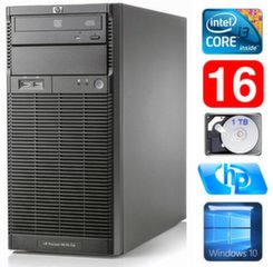 HP ProLiant ML110 G6 i3-550 16GB 1TB DVD WIN10
