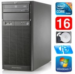 HP ProLiant ML110 G6 i3-550 16GB 250GB DVD WIN7Pro