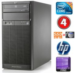Lauaarvuti HP ProLiant ML110 G6 i3-550 4GB 240SSD+500GB DVD WIN10Pro