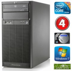 HP ProLiant ML110 G6 i3-550 4GB 500GB GT1030 2GB DVD WIN7Pro