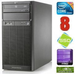 HP ProLiant ML110 G6 i3-550 8GB 120SSD GT1030 2GB DVD WIN10Pro