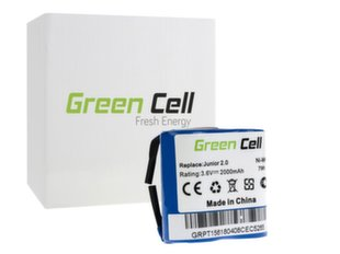 Green Cell Battery for AEG Electrolux Junior 2.0 hind ja info | Tolmuimejate akud | kaup24.ee
