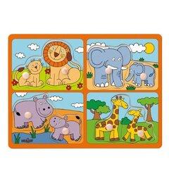 Puidust pusle Loomad Woody, 91914, 8 o. hind ja info   Puidust pusle Loomad Woody, 91914, 8 o.   kaup24.ee