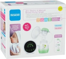 Rinnapumba komplekt MAM 2in1 Electric & Manual Breast Pump Single