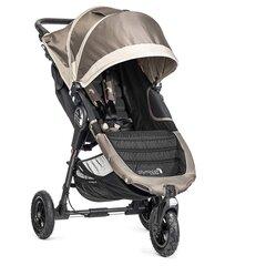 Baby Jogger jalutuskäru City Mini Gt, Sand/stone, BJ15457 hind ja info | Vankrid, jalutuskärud | kaup24.ee