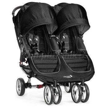 Baby Jogger kaksikute jalutuskäru City Mini GT Double, Black/gray, 350953