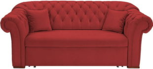 Diivan BRW Cupido 2S, punane hind ja info | Diivanid | kaup24.ee