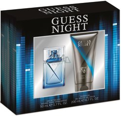 Komplekt Guess Night: EDT meestele 50 ml + dušigeel 200 ml