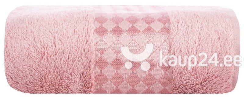 Полотенце Bambo 70х140 см, розовое