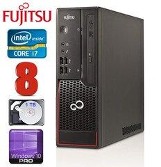 Lauaarvuti Fujitsu Esprimo C710 SFF i7-3770 8GB 1TB DVDRW WIN10Pro