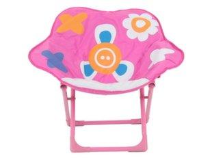Laste kokkupandav tool Patio Lill, roosa