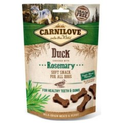 Carnilove Dog koeramaius Duck with Rosemary, 200 g