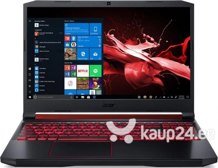 Acer Predator Helios 300 (NH.Q54EP.004) 16 GB RAM/ 512 GB M.2 PCIe/ Windows 10 Home hind