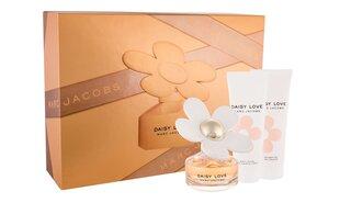 Набор Marc Jacobs Daisy Love для женщин: Туалетная вода EDT 50 мл+ молочко для тела 75мл + гель для душа 75мл