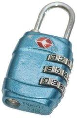 Kohvrilukk Rockland Travel Lock Code, sinine