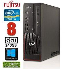 Fujitsu Esprimo C710 SFF i7-3770 8GB 240SSD GT710 2GB DVDRW WIN10