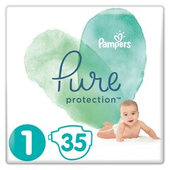 Mähkmed PAMPERS PURE, Carry Pack 1 suurus, 35 tk.