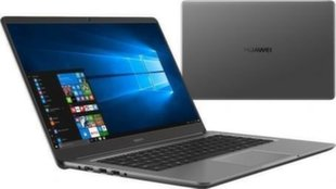 Huawei MateBook D (53010CEP) 16 GB RAM/ 128 GB M.2/ 1TB HDD/ Windows 10 Home