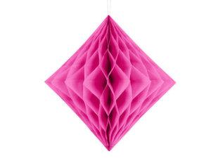 Riputatav kaunistus Diamond 30 cm, Tumeroosa, (1 pk/1 tk)