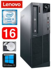 Lauaarvuti Lenovo ThinkCentre M82 SFF i3-2120 16GB 250GB WIN10