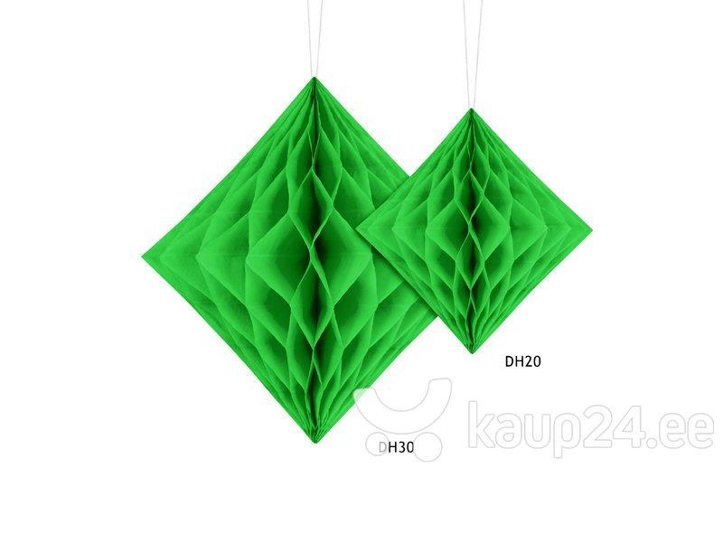 Riputatav kaunistus Diamond 30 cm, Salatiroheline, (1 pk/1 tk) Internetist