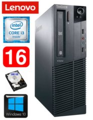 Lauaarvuti Lenovo ThinkCentre M82 SFF i3-2120 16GB 500GB WIN10