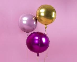 Fooliumist õhupallid Ball 40 cm, kuldne