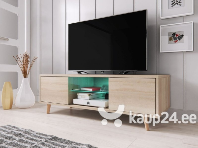 TV laud Sweden, pruun