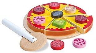 Puidust pitsa koos tarvikutega Eichhorn hind ja info | Tüdrukute mänguasjad | kaup24.ee