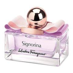 Tualettvesi Salvatore Ferragamo Signorina EDT naistele 50 ml hind ja info | Naiste parfüümid | kaup24.ee