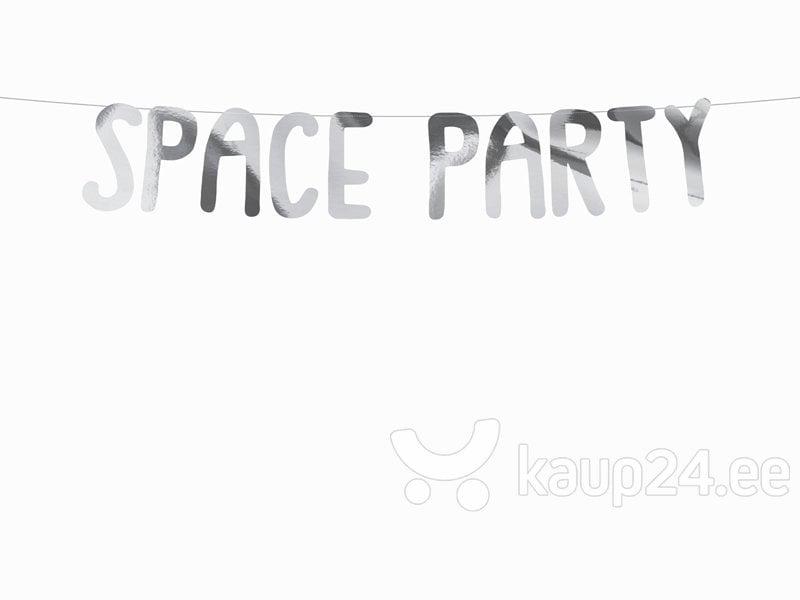 Vanik Space Party Silver, 13x96 cm, 1 tk hind ja info | Peokaunistused | kaup24.ee