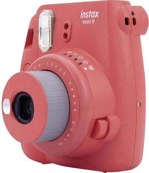 Fujifilm Instax Mini 9, punane (Poppy Red)