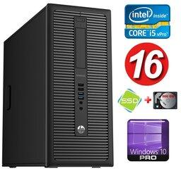 HP 600 G1 MT I5-4590 16GB 120SSD+500GB WIN10Pro