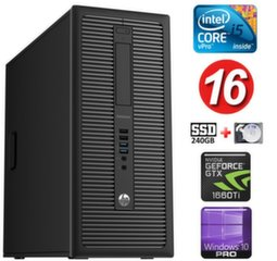 HP 600 G1 MT I5-4590 16GB 240SSD+2TB GTX1660Ti 6GB WIN10Pro
