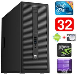 HP 600 G1 MT I5-4590 32GB 120SSD+2TB GTX1660Ti 6GB WIN10Pro