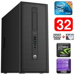 HP 600 G1 MT I5-4590 32GB 240SSD+1TB GTX1660Ti 6GB WIN10Pro