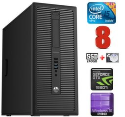 HP 600 G1 MT I5-4590 8GB 240SSD+2TB GTX1660Ti 6GB WIN10Pro