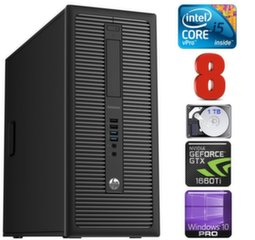HP 600 G1 MT I5-4590S 8GB 1TB GTX1660Ti 6GB WIN10Pro