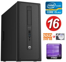 HP 600 G1 MT I5-4590S 16GB 240SSD+1TB WIN10Pro
