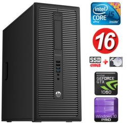 HP 600 G1 MT I5-4590S 16GB 480SSD+1TB GTX1060 6GB WIN10Pro