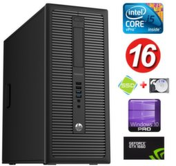 HP 600 G1 MT I5-4590S 16GB 120SSD+2TB GTX1660 6GB WIN10Pro