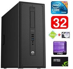 HP 600 G1 MT I5-4590S 32GB 120SSD+2TB GTX1660 6GB WIN10Pro
